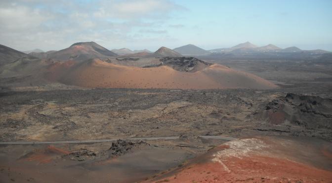 Embrace of a volcano
