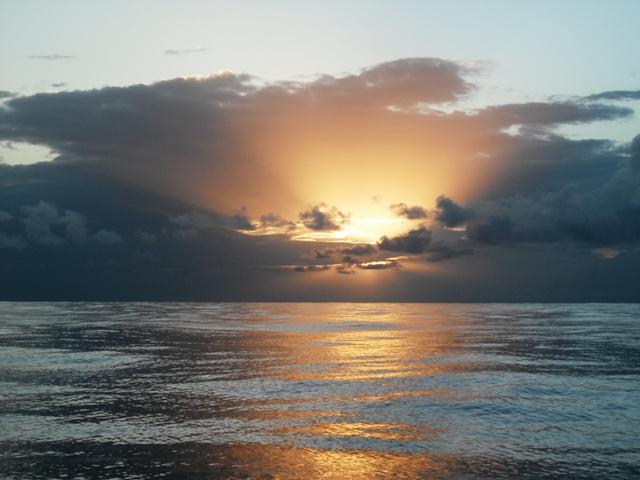 Atlantic crossing: the last dash