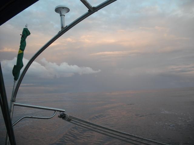 Atlantic crossing: equator and good luck