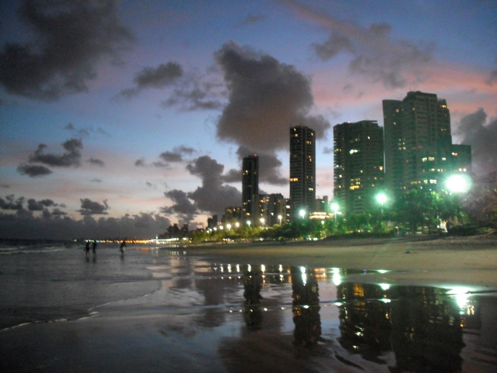 Coast of Recife in low tide